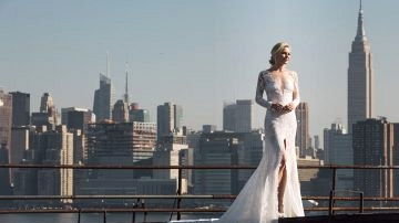 'It Bride' Blair Eadie's Fairytale NYC Editorial with Pronovias