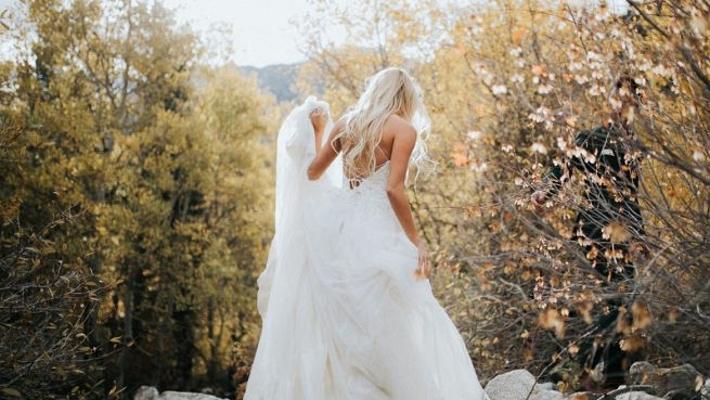 Romantic Wedding ceremony Clothes from Maggie Sottero Designs