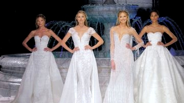 Pronovias Runway Present from Barcelona Bridal Week