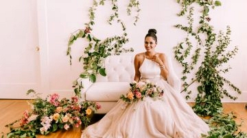 Marriage ceremony Gown Inspiration at The Gown Idea