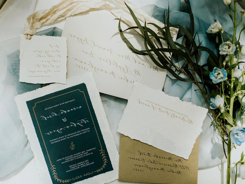 Blue Invitation