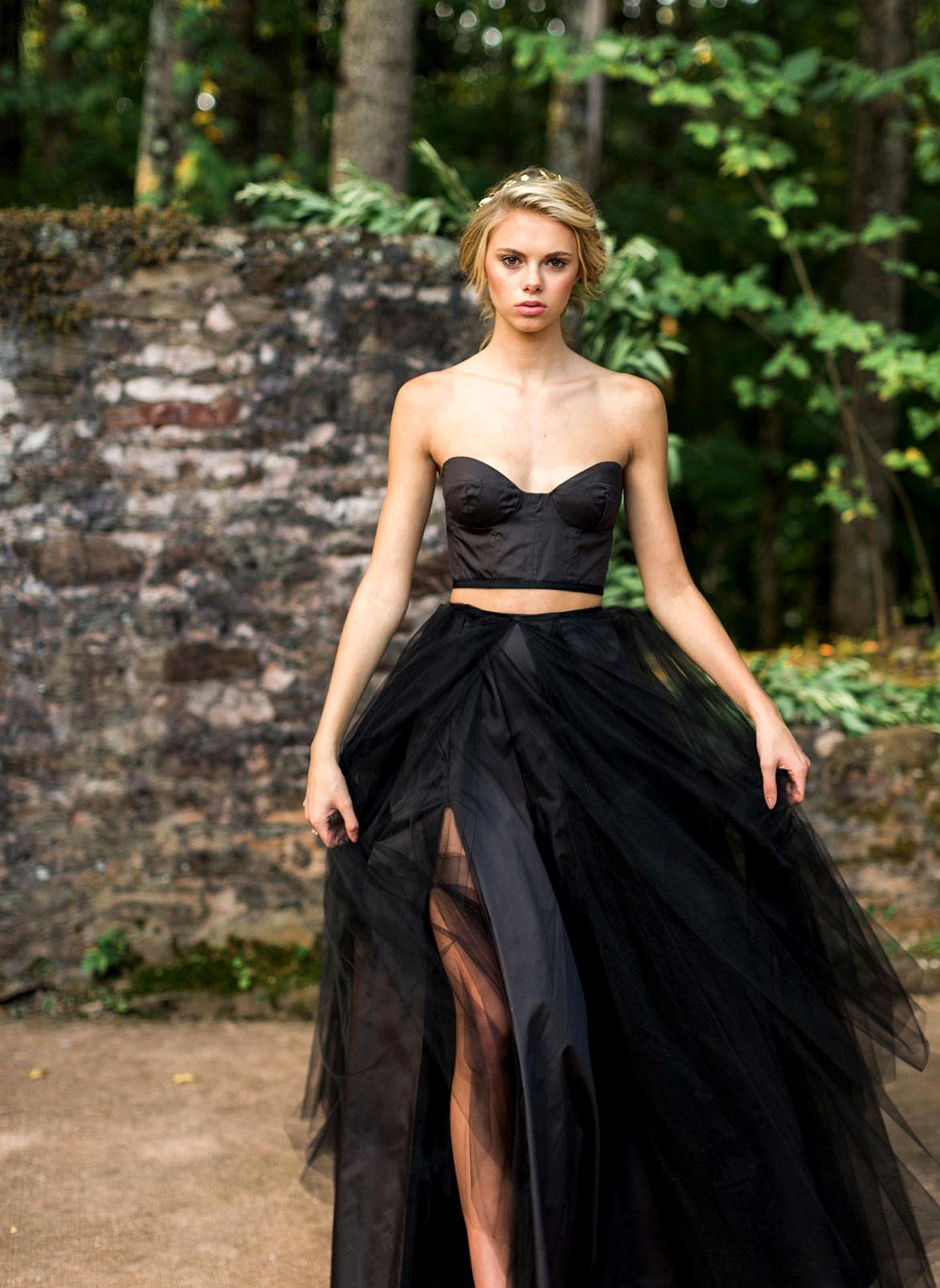 Elizabeth Dye Black Dress