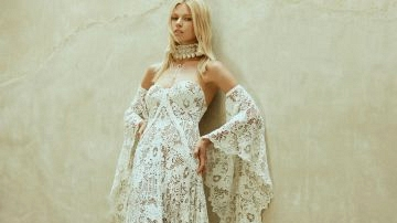 Boho Wedding ceremony Clothes from Rue De Seine's Love Spell Assortment