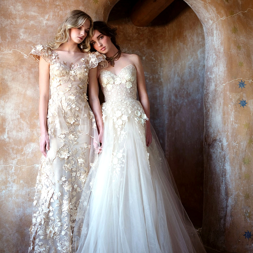 The New Ellen Wise Couture Bridal Collection Where Delicate Meets Decadent