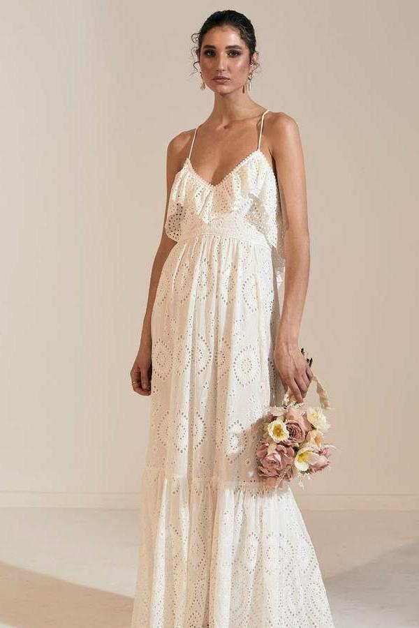 wedding dress for the beach