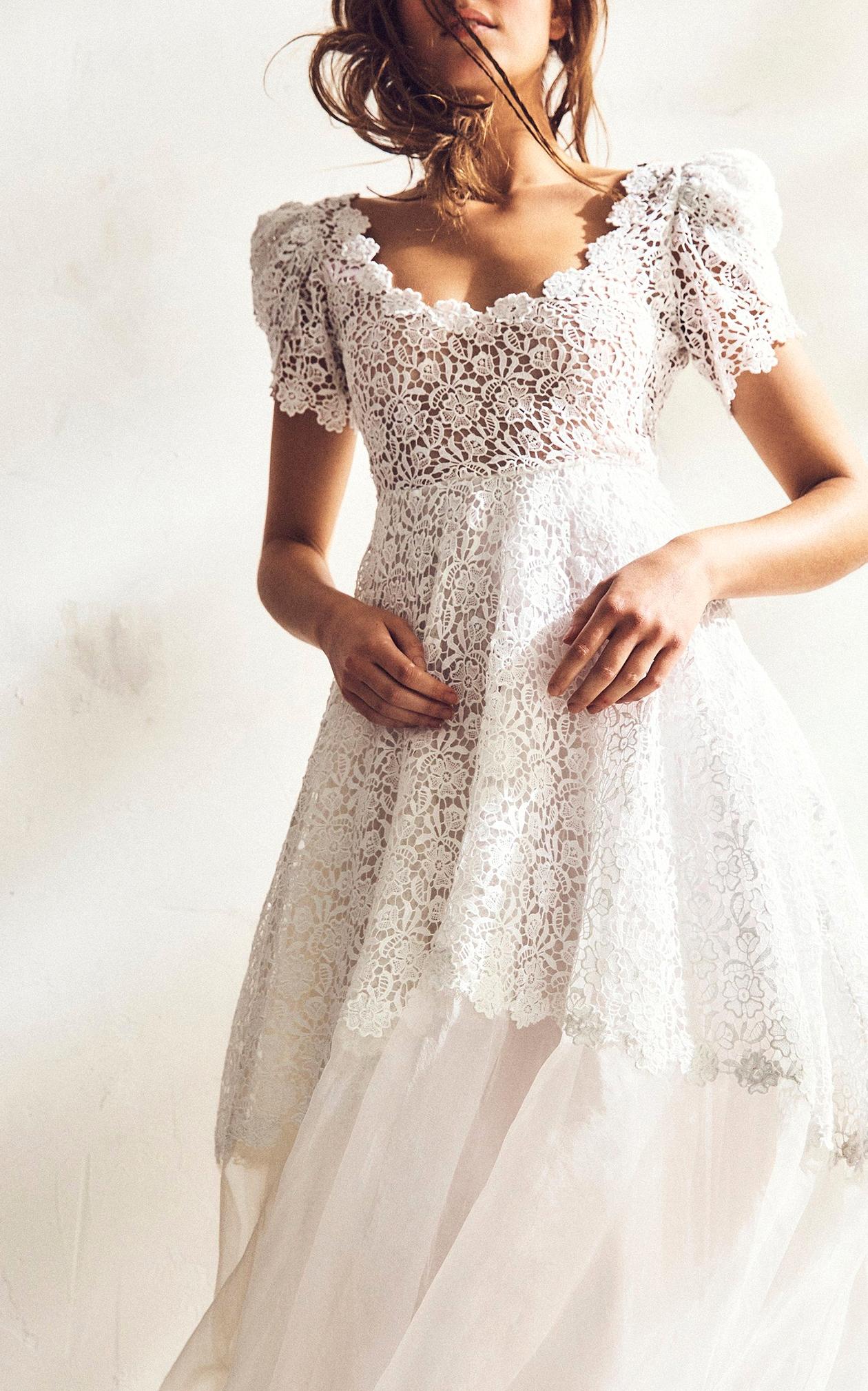 LoveShackFancy Wedding Dress