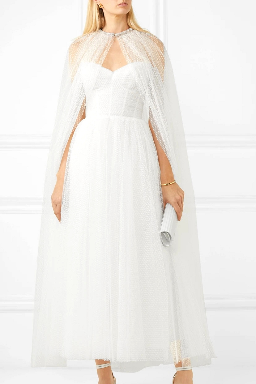 Bridgerton-Inspired Wedding Cape