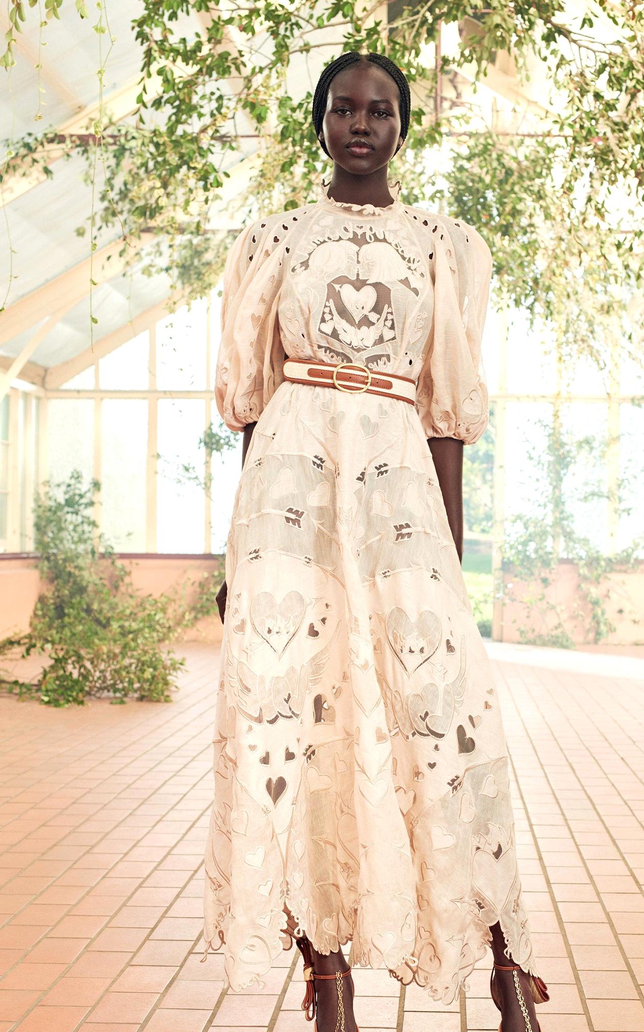 Pink Regencycore Dress