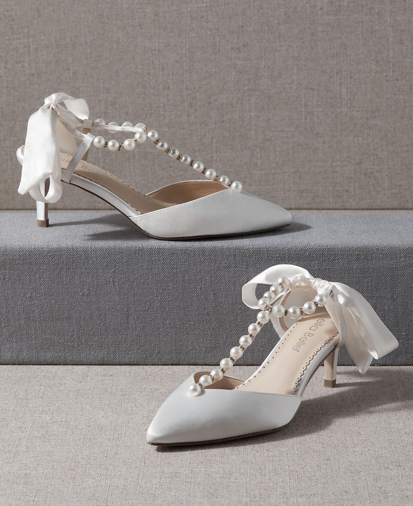 Bridgerton-Inspired Bridal Shoes