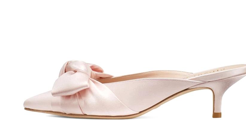 Pink Mules Inspired by Bridgerton