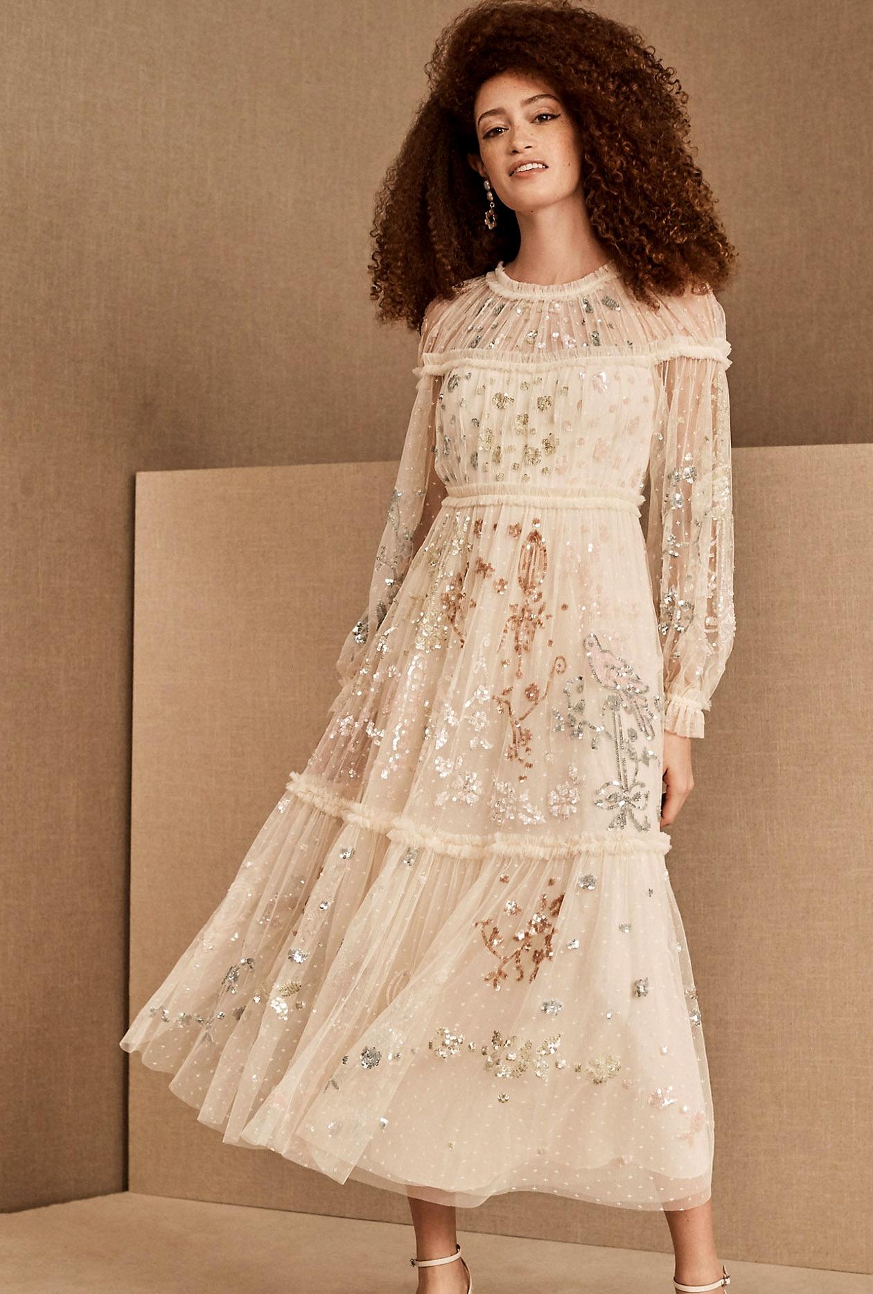 Needle & Thread Delphine Sequin Ballerina Dress