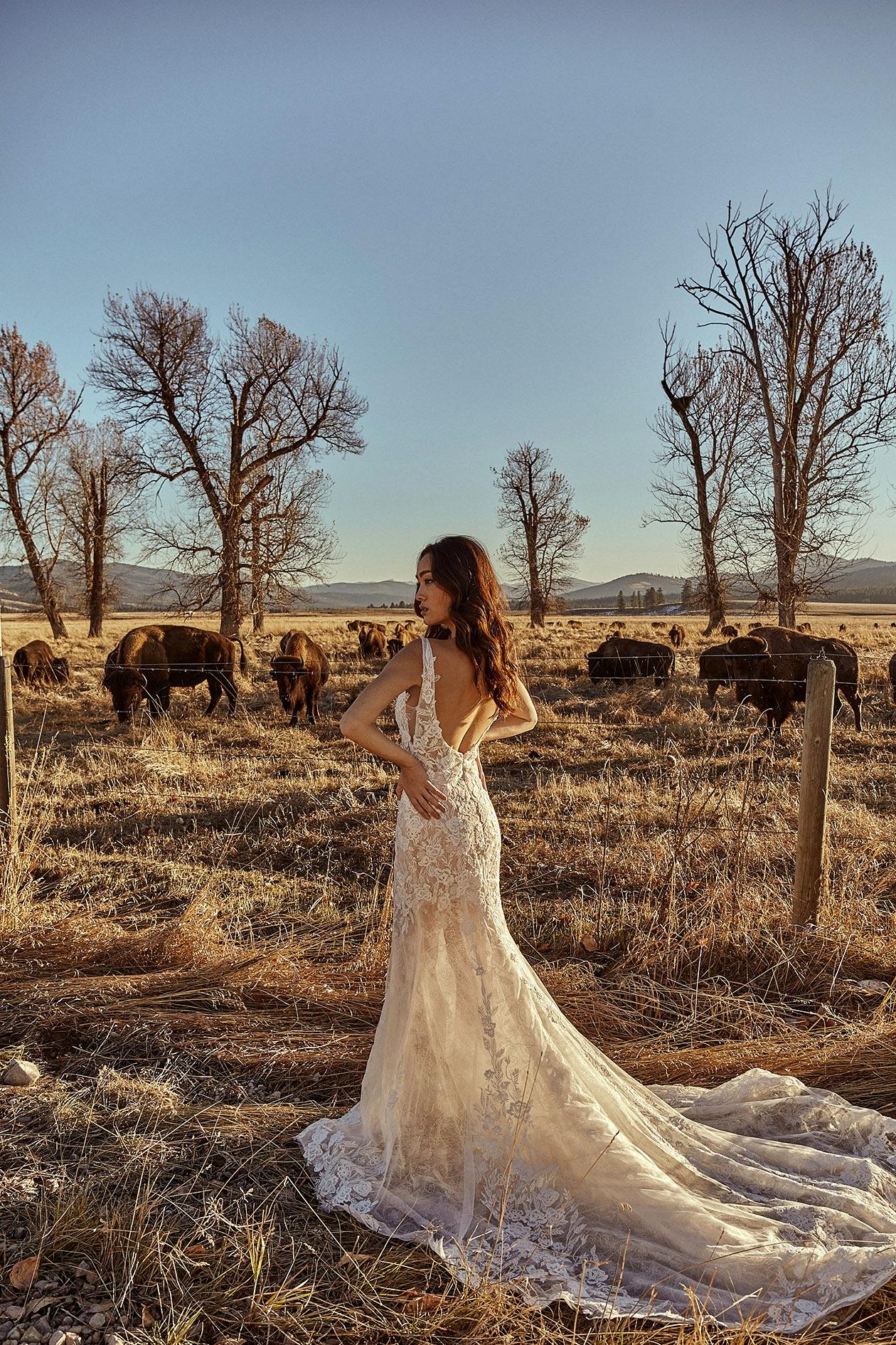 Tara Lauren Montana gown