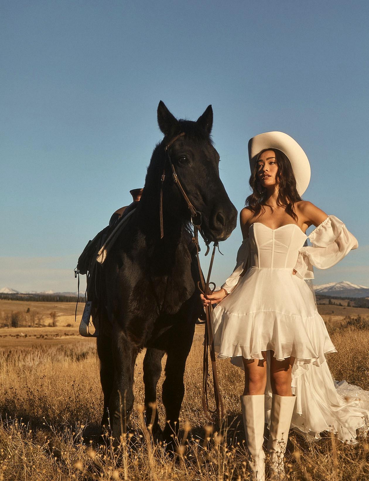 Tara Lauren Short Wedding Dress