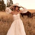 2021 Wedding Dress line by Tara Lauren: Western Meets Boho in Wild Reverie